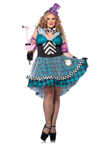 This Plus Size Manic Mad Hatter Costume is a unique and alluring - cool halloween costume ideas for guys