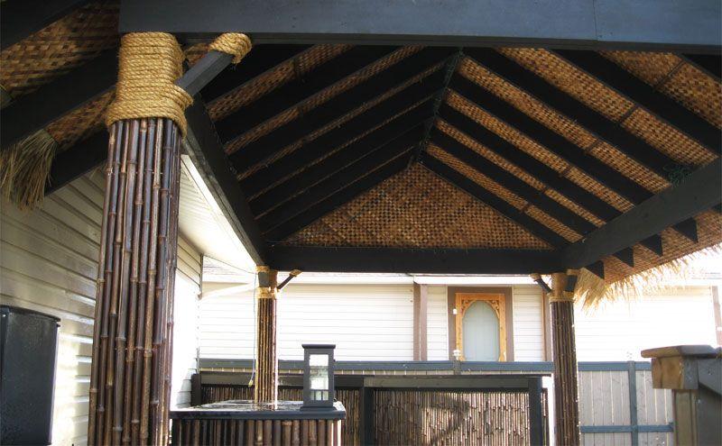 Bamboo Tiki Hut Gallery