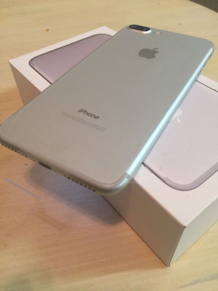 Apple Iphone 7 Plus 32gb Silver Unlocked Smartphone Apple