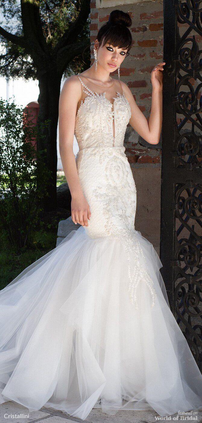 Cristallini wedding dresses mermaid wedding dresses
