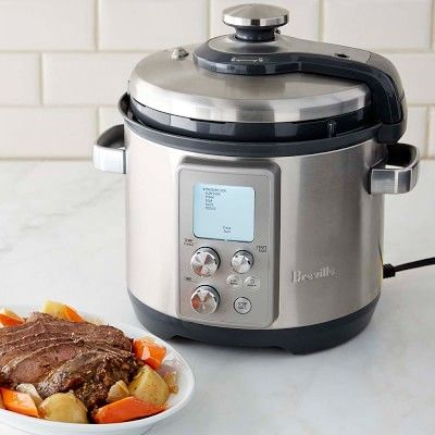 Breville Fast Slow Pro Pressure Cooker 6 Qt Best Pressure Cooker Cooking Equipment Best Electric Pressure Cooker