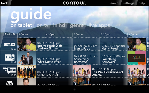 Cox Contour Guide Android Cable App Screenshots App