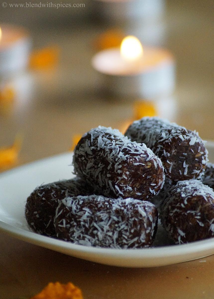 Date Coconut Rolls Recipe Easy Diwali Sweets Recipes