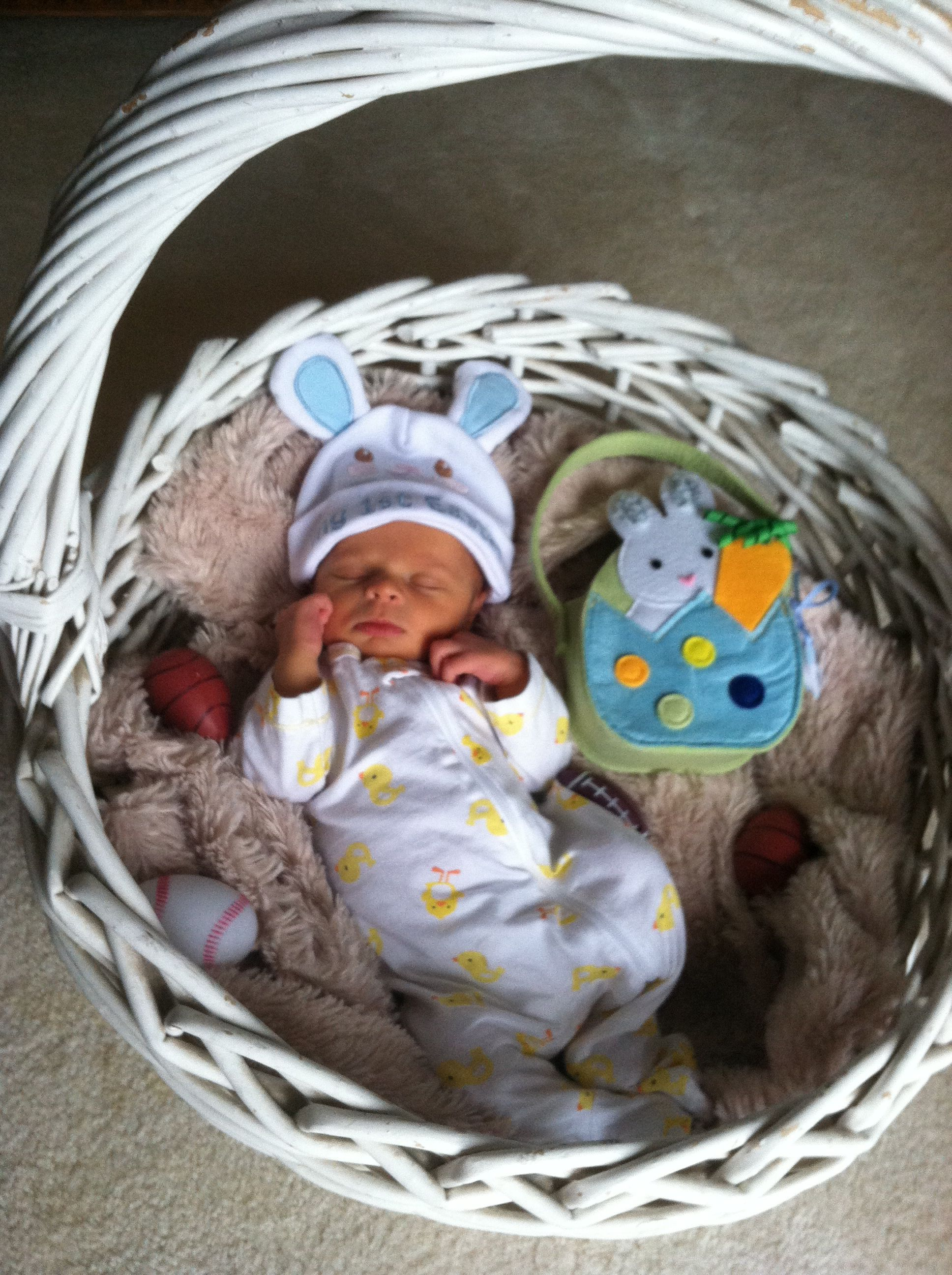 Babys first easter babbiess3 pinterest easter babies and babys first easter negle Images