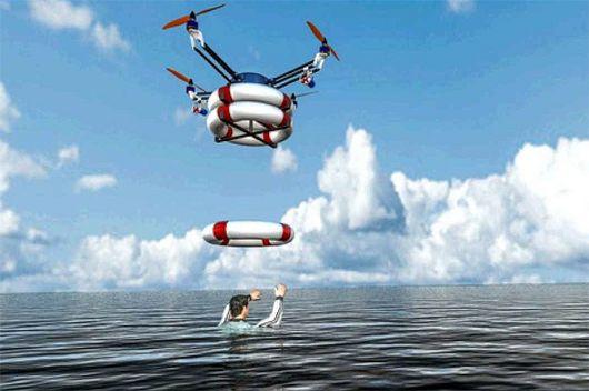 Pregon Agropecuario :: DRONES SALVAVIDAS EN LAS PLAYAS ESPAÑOLAS - Ciencia y Tecnología