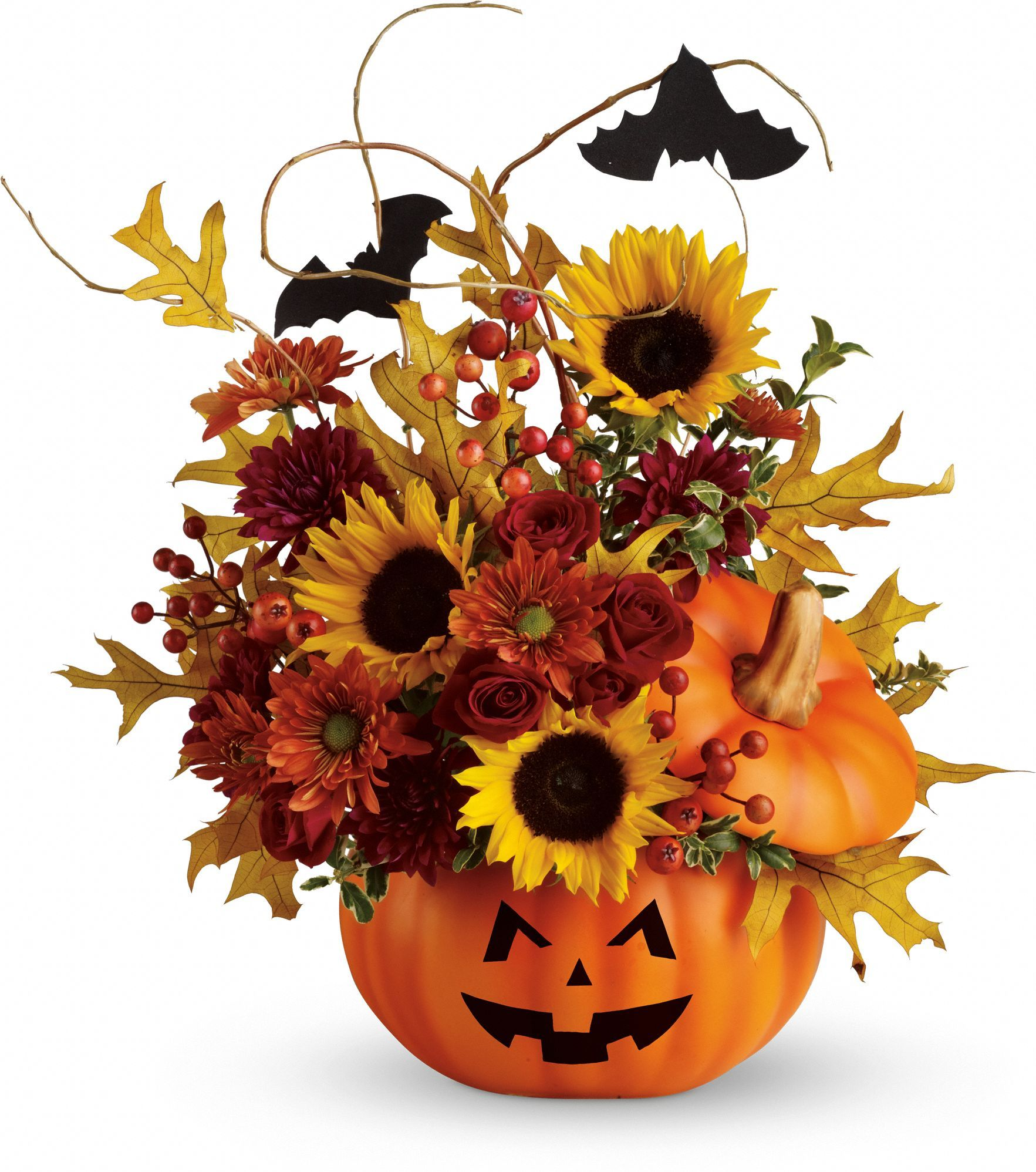 Teleflora\u0027s Trick  Treat Halloween Floral  Decorations - Whimsical Halloween Decorations