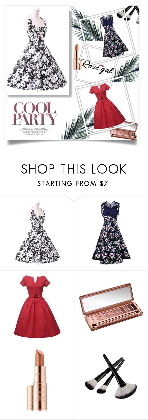 """""""Rosegal 57/II"""" by nermina-okanovic ❤ liked on Polyvore featuring Urban Decay, Estée Lauder, vintage and rosegal"""