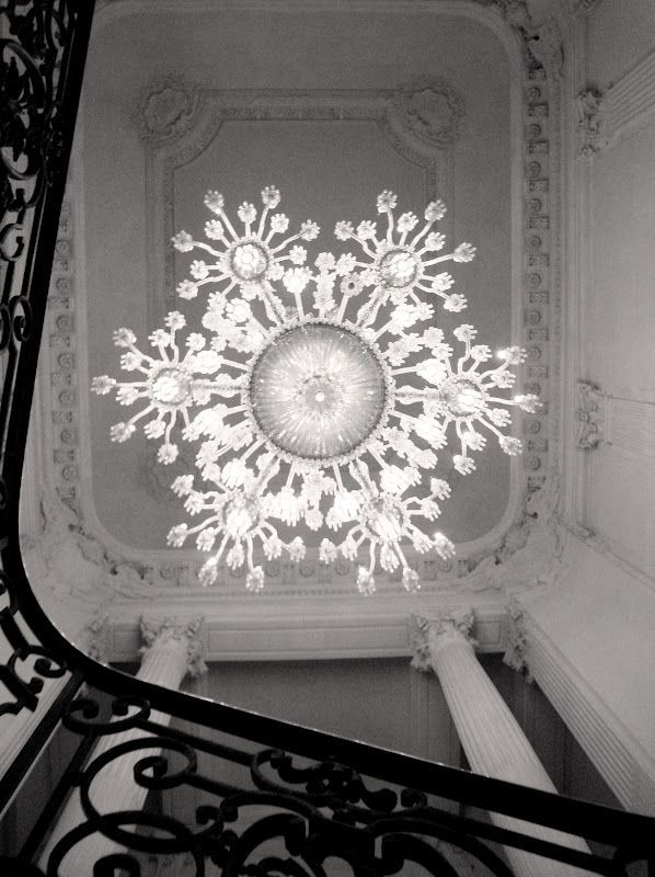 A Beautiful Chandelier From Beneath Beautiful Chandelier Paris Design