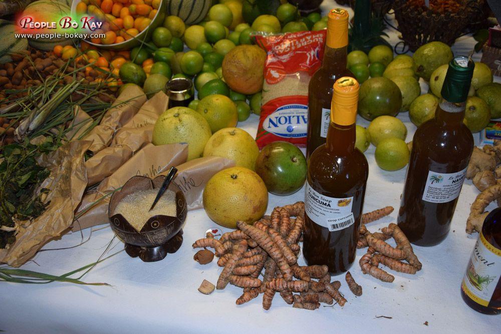 Fruits tropicaux. l'Habitation+Clément