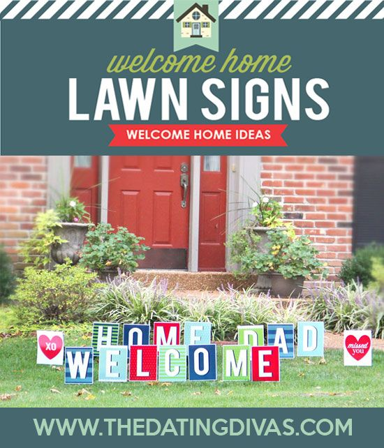 image about Printable Yard Signs identified as Welcome Property Printable Occasion Package Courting Divas Relationship Ideas