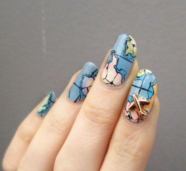 10 Travel The World Travel Inspired Nail Art Nail Polish Nail