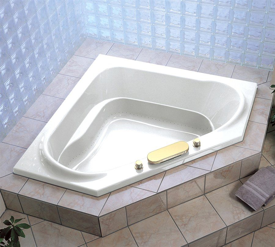 Jacuzzi Whirlpool CAP6060BCXXXX Capella Corner Soaking Tub - Fixture ...