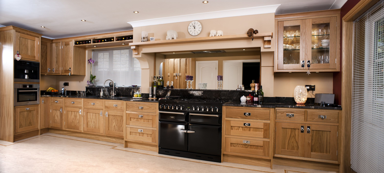 Classically Beautiful American Oak Kitchen Kitchen Cabinets Kitchen Cool Kitchens