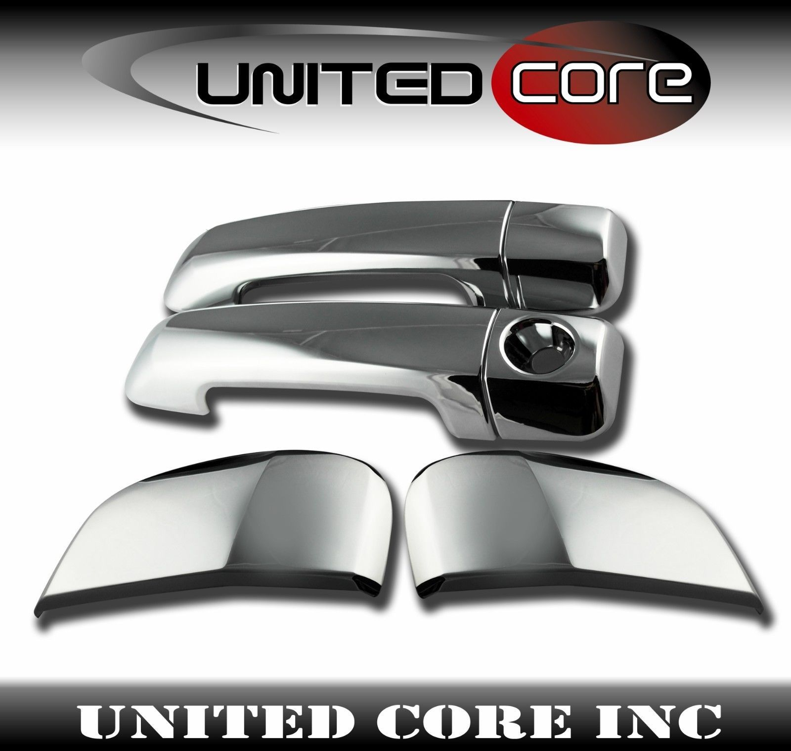 Chrome Door Handle Cover For Toyota Tundra Double Cab 07 16 Triple Chrome Ebay Chrome Door Handles Door Handles Toyota Tundra