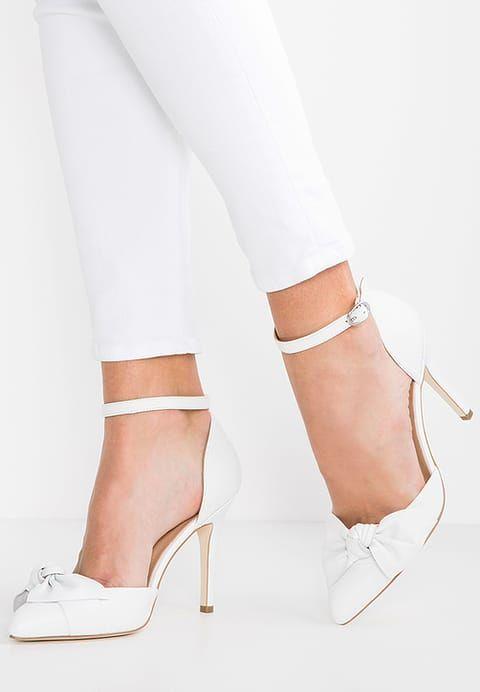 kiomi zapatos altos - white - zalando.es | novias y fiesta (bridal