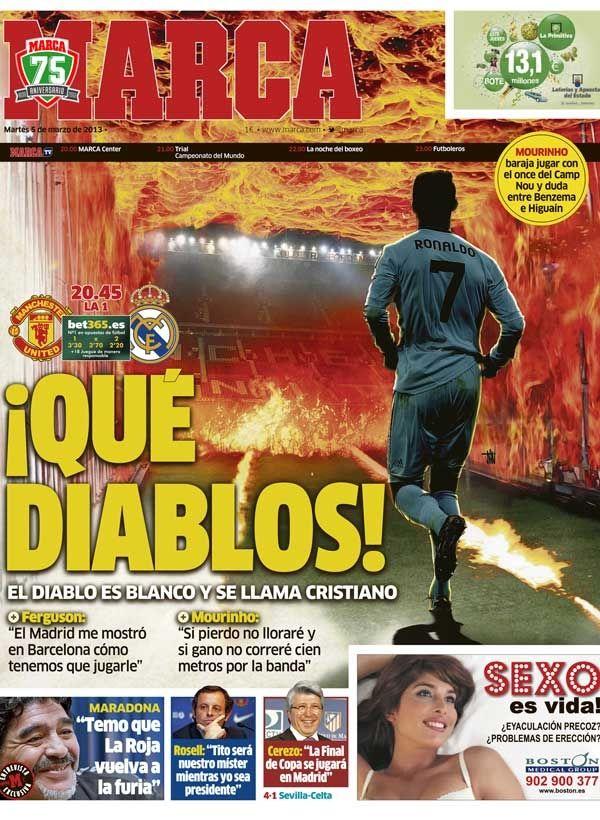 La portada del 5 de Marzo de 2013 / ¡Qué diablos!
