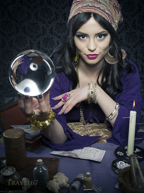 Image result for gypsy fortune teller photographs