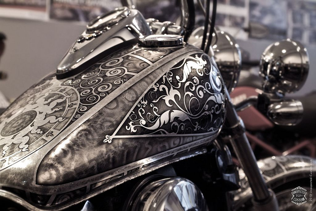 Vintage Harley Davidson Paint Jobs Custom Bike A Photo On Flickriver Harley Davidson Painting Motorcycle Paint Jobs Motorcycle Tank