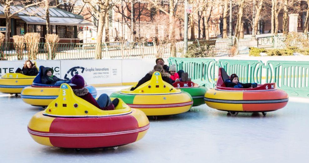 Ice Bumper Cars Return to Providence, Rhode Island