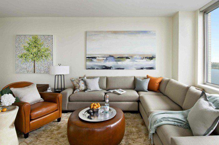 AuBergewohnlich Wohnzimmergestaltung   34 Erfrischende Ideen Für Den Wohnbereich
