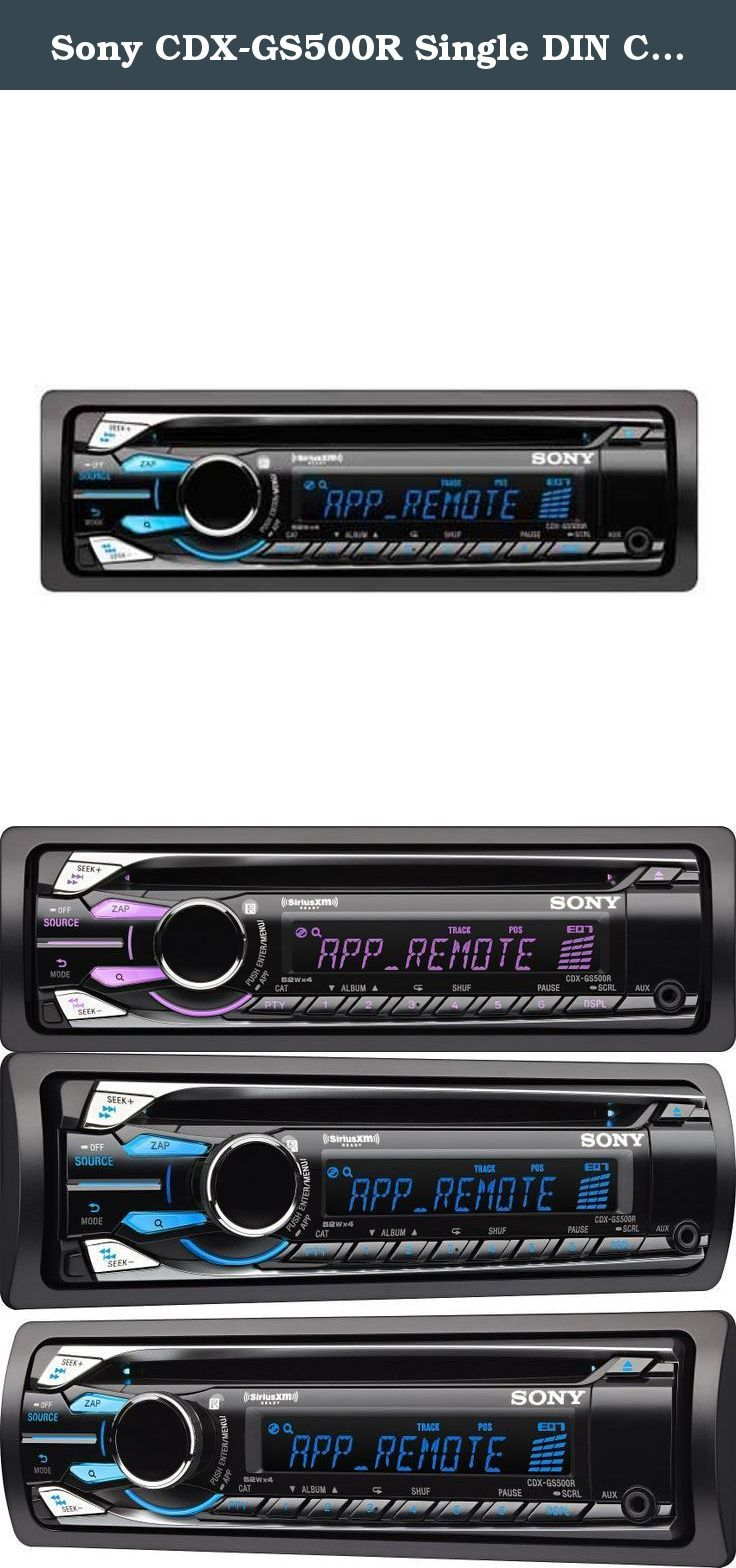 Sony CDXGS500R Single DIN Car Stereo With Pandora Control