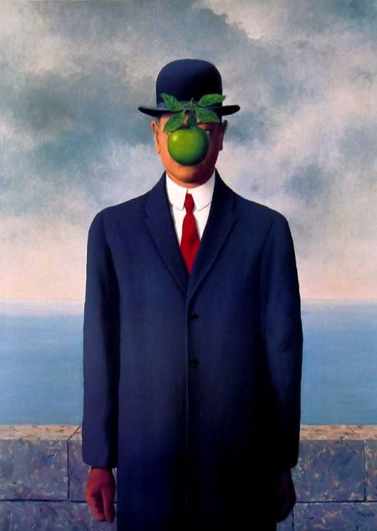 Rene Magritte Il Figlio Delluomo