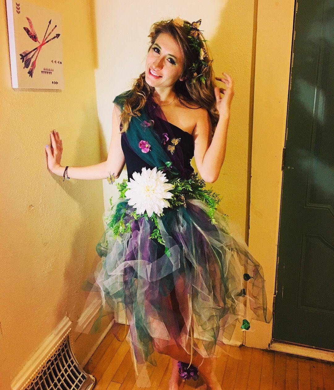 DIY Mother Nature Costume 🌿🌷   Halloween/Costumes   Mother ...