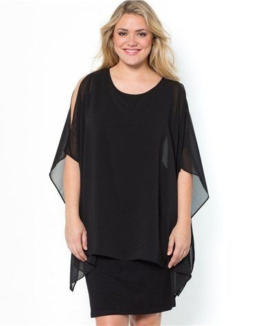 Robe longue grande taille taillissime