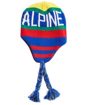 f546b6fbede8b Polo Ralph Lauren Men s Downhill Skier Ear-Flap Cap - Red