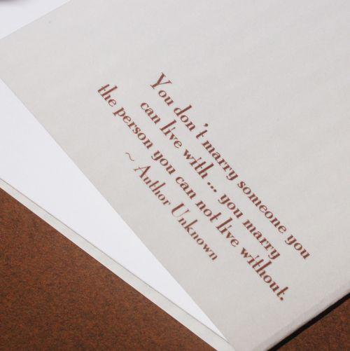 Wedding Invitation Saying