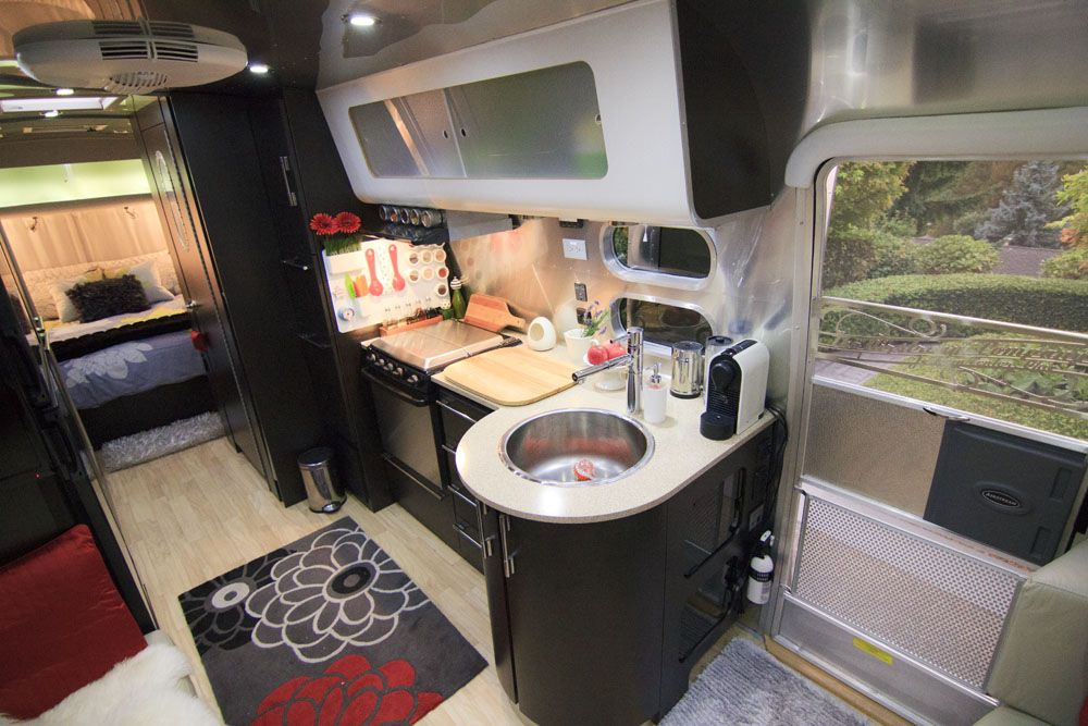 Inside our airstream travel trailer rv 39 s motor homes for Camper interior designs