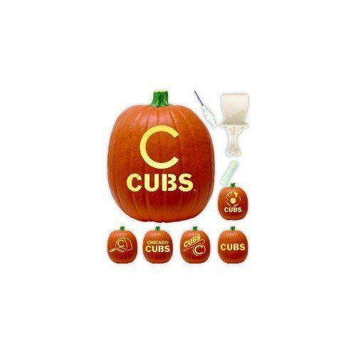 Chicago Cubs Pumpkin Carving Kit | Halloween decorations | Pinterest