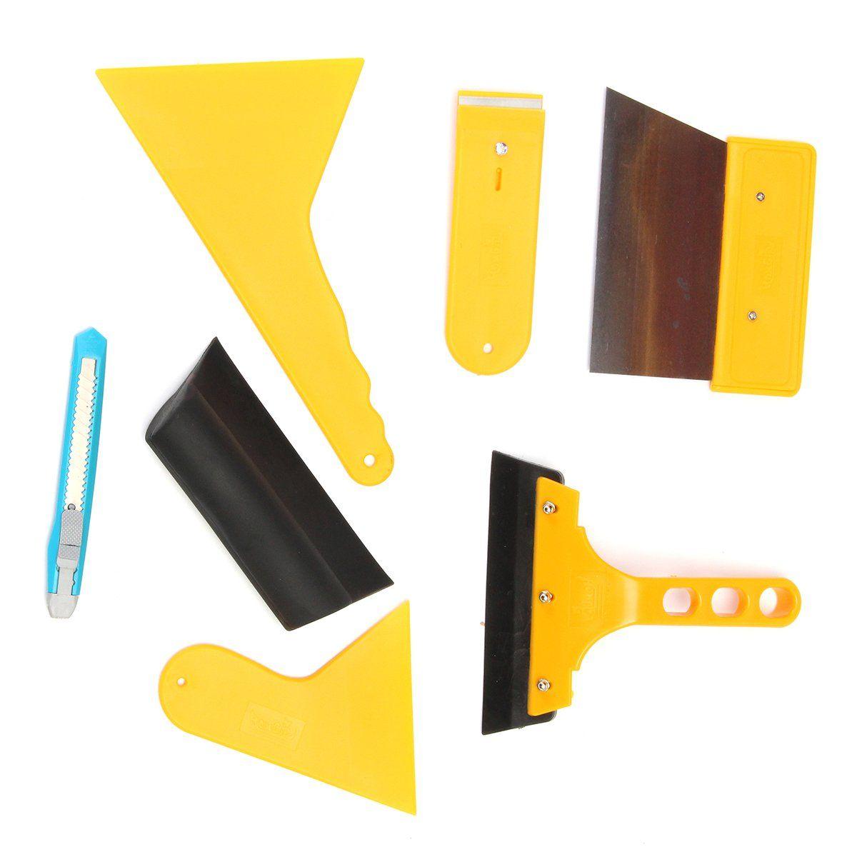 Car window tint tools kit film tinting scraper application