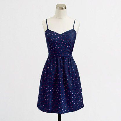 Factory printed cami dress