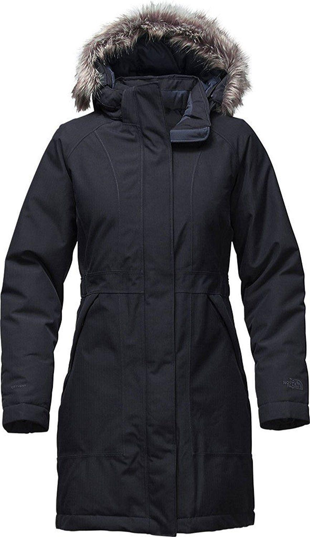 76d02981b Women's The North Face Arctic Parka Jacket Urban Navy Heather Size ...