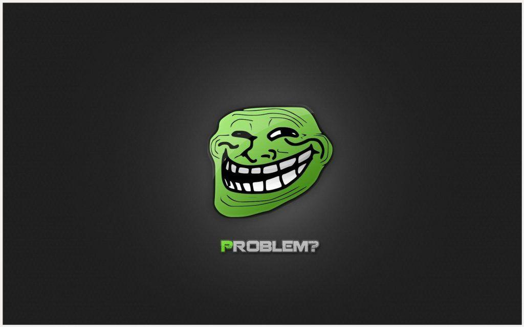 Troll Face Funny Meme HD Wallpaper