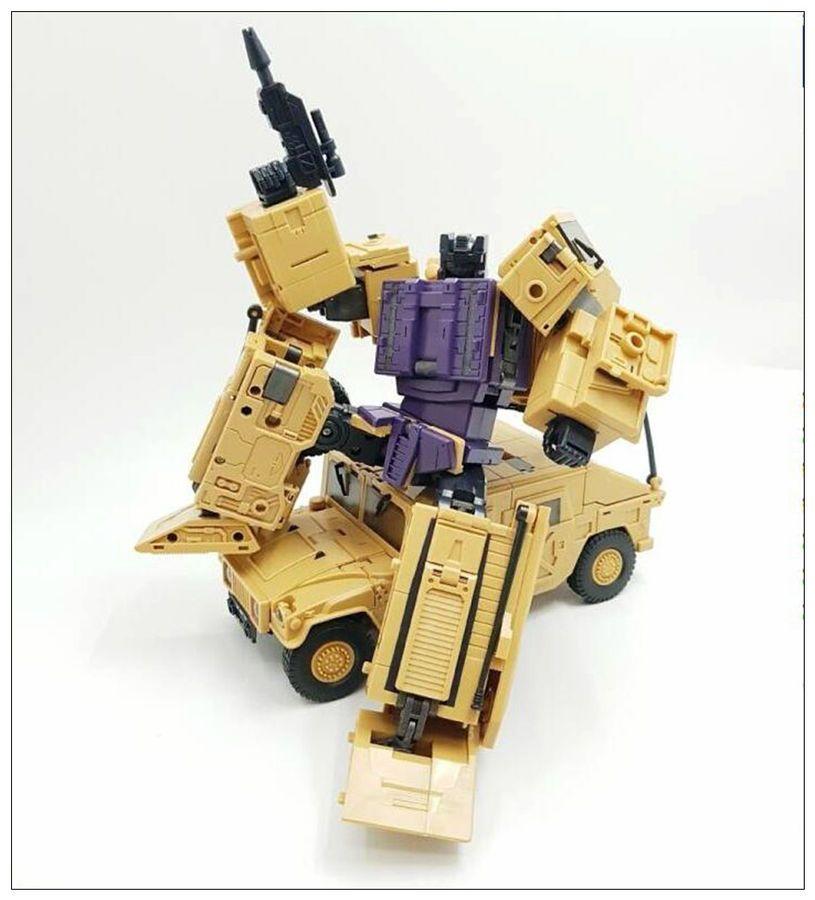 Transformers Toys Zeta ZA-05 Armageddon RACKET G1 Swindle in Stock
