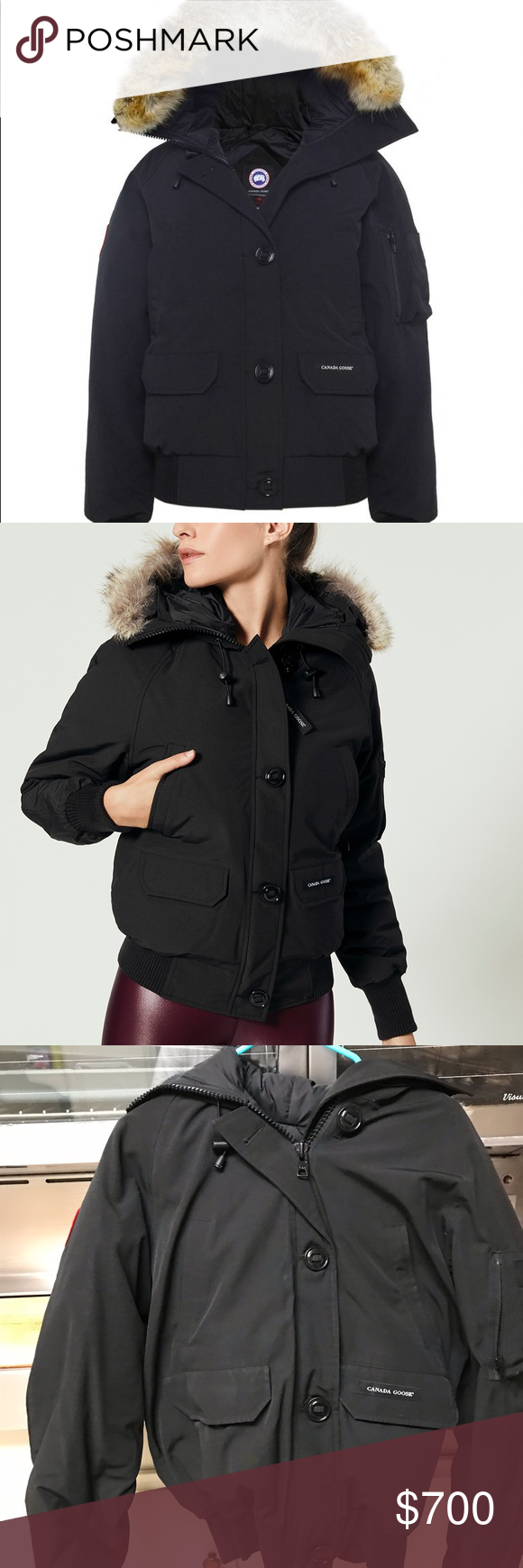 Women's Canada Goose Chilliwack Bomber Large Women's