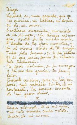 Pin De Sandy Crabbe Em Frida Frida Kahlo Cartas De Amor Diego Rivera