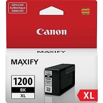 Canon Pgi 1200xl Black Ink Cartridge High Yield 9183b001
