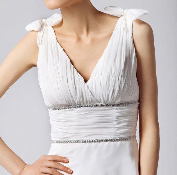 1930 vintage wedding dress greek wedding dress by Prettyobession ...