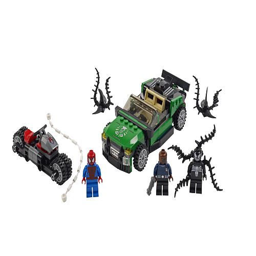 LEGO Super Heroes Spider-Man Spider-Cycle Chase (76004) - LEGO ...