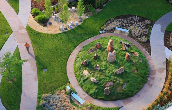 landscape architecture norris design healing garden