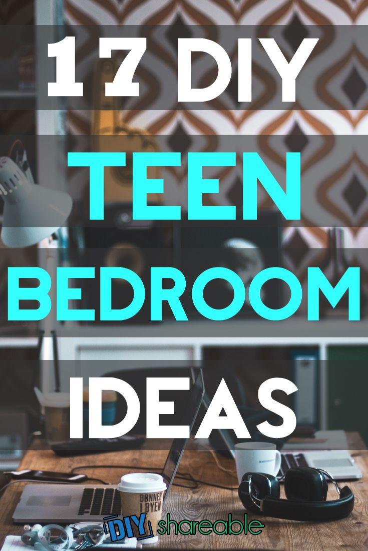 17 Cute Amp Affordable Diy Teen Bedroom Ideas Diyshareable