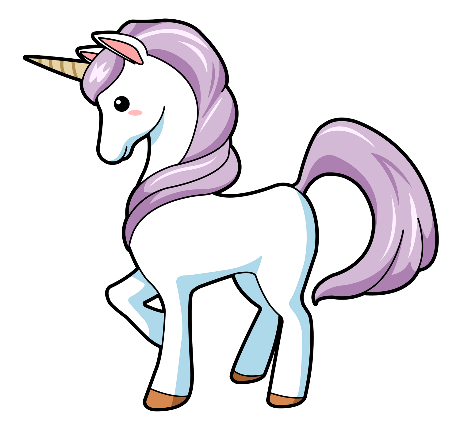 Free To Use & Public Domain Unicorn Clip Art - 1500x1414 ...