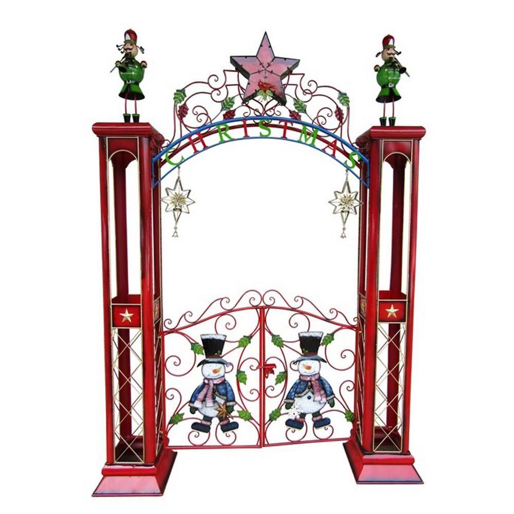 Zaer Ltd International 115 In Christmas Gate With Arch