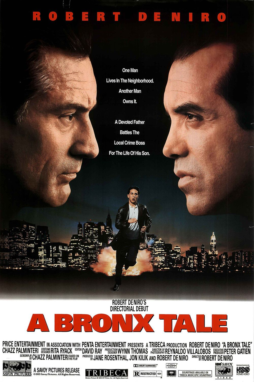 Image result for A Bronx Tale (1993) poster