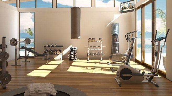 Gym....Para poder crear un gimnasio en el hogar, primero tienes que  disponer del espacio s… | Sala de gimnasio en casa, Diseño de gimnasio en  casa, Gimnasio en casa