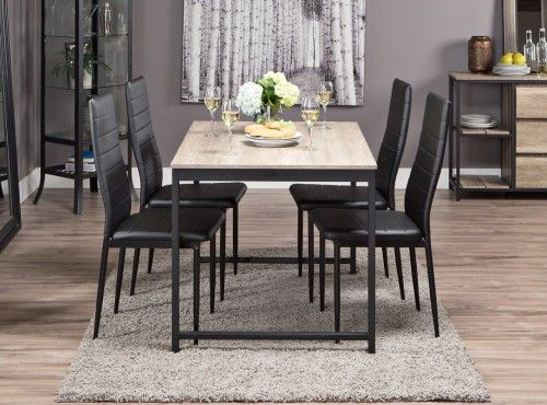 LULEA Table 48 TOREBY Chairs Dining Set JYSK Canada For Our Adorable Canadian Dining Room Furniture