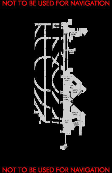 Airport Runway Layout Diagrams Description Ksea Airport